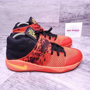 Nike Kyrie 2 Basketball Sneaker Orange Black 8.5
